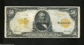 Large Size:Gold Certificates, Fr. 1199 $50 1913 Gold Certificate About Fine. Bright ...