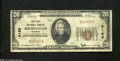 National Bank Notes:Alabama, Birmingham, AL - $20 1929 Ty. 1 The First NB Ch. # ...