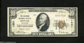 National Bank Notes:Colorado, Denver, CO - $10 1929 Ty. 1 The Colorado NB Ch. # 1651
