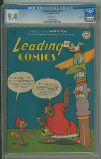 Leading Comics #18 - SHGC - Vancouver (DC, 1946) CGC NM 9.4 White pages