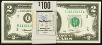 Fr. 1935-E $2 1976 Federal Reserve Notes. Fifty Consecutive Examples. ... (Total: 50 notes)