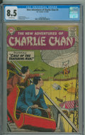 Silver Age (1956-1969):Mystery, The New Adventures of Charlie Chan #4 - 2nd HGC (DC, 1958) CGC VF+ 8.5 Off-white pages.