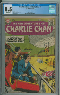 The New Adventures of Charlie Chan #4 - 2nd HGC (DC, 1958) CGC VF+ 8.5 Off-white pages