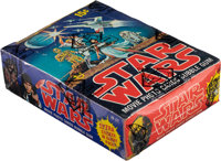 1977 Topps Star Wars Series 1 Wax Box With 36 Unopened Packs