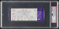1998 NBA Finals Game Six Full Ticket, PSA NM-MT 8-Michael Jordan's Last Game & Championship with the Chicago Bulls...