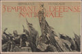 "Movie Posters:War, World War I Propaganda (c. 1917). Fine+ on Linen. French 3rd National Defense Loan Poster (31"" X 47.25"") ""Republique ..."