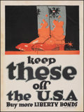 Movie Posters:War, World War I Propaganda (U.S. Government Printing Office, c...