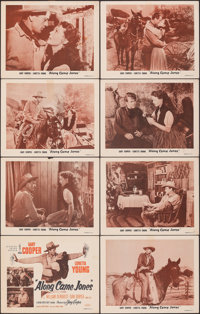 "Along Came Jones (Independent Releasing, R-1953). Fine/Very Fine. Lobby Card Set of 8 (11"" X 14""). Western..."