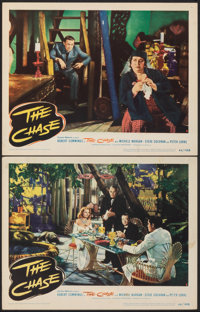 """The Chase (United Artists, 1946). Very Fine-. Lobby Cards (2) (11"""" X 14""""). Film Noir. ... (Total: 2 Items)"""