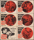 """Movie Posters:Crime, Danger Signal (Warner Bros., 1945). Overall: Fine/Very Fine. Title Lobby Card & Lobby Cards (5) (11"""" X 14""""). Crime.. ... (Total: 6 Items)"""