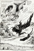 Original Comic Art:Panel Pages, Steve Bissette and Alfredo Alcala Saga of the Swamp Thing #30 Story Page 5 Original Art (DC, 1984)....