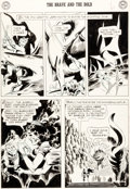 Original Comic Art:Panel Pages, Joe Kubert Brave and the Bold #17 Story Page 6 Viking Prince Original Art (DC Comics, 1958)....