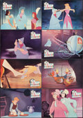 """Movie Posters:Animation, Cinderella (Filmayer, R-1970s). Very Fine+. Spanish Lobby Card Set of 8 (9.5"""" X 13.5""""). Animation.. ... (Total: 8 Items)"""