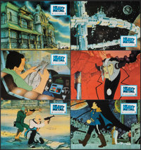 """Heavy Metal (Columbia, 1981). Very Fine+. Spanish Lobby Card Set of 10 (9.5"""" X 13.25""""). Animation. ... (Total:..."""