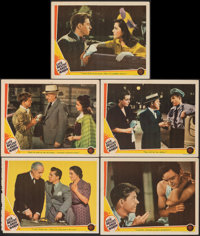 """Life Begins for Andy Hardy (MGM, 1941). Overall: Very Fine-. Lobby Cards (5) (Approx. 11"""" X 14""""). Comedy..."""