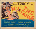 """Movie Posters:Comedy, The Nuisance (MGM, 1933). Fine/Very Fine. Title Lobby Card (11"""" X 14""""). Comedy.. ..."""
