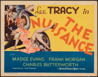 """The Nuisance (MGM, 1933). Fine/Very Fine. Title Lobby Card (11"""" X 14""""). Comedy"""