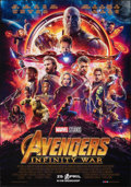 "Movie Posters:Action, Avengers: Infinity War (Walt Disney Pictures, 2018). Rolled, Very Fine+. Dutch One Sheet (27.5"" X 39.25"") DS Advance. Action..."