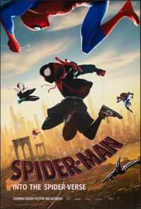 "Spider-Man: Into the Spider-Verse (Sony, 2018). Rolled, Very Fine. One Sheet (27"" X 40"") & Dutch One Sheet..."