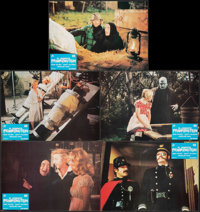 """Young Frankenstein (20th Century Fox, 1974). Very Fine-. Spanish Lobby Cards (9) (13.25"""" X 9.25""""). Comedy..."""