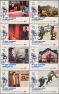 """Movie Posters:Action, The Eiger Sanction (Universal, 1975). Fine+. Lobby Card Set of 8 (11"""" X 14""""). John Alvin Artwork. Action.. ... (Total: 8 Items)"""