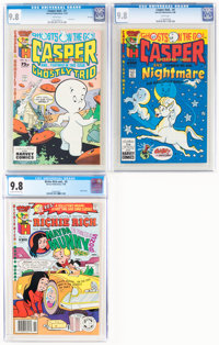 Casper And.../Richie Rich And... Group of 3 (Harvey, 1987-88) CGC NM/MT 9.8.... (Total: 3 Comic Books)