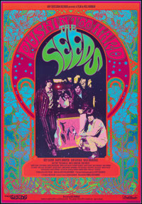 "The Seeds: Pushin' Too Hard (GNP Crescendo Records, 2014). Rolled, Very Fine+. One Sheet (27"" X 39"") SS. Docum..."
