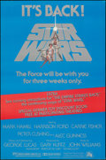 """Movie Posters:Science Fiction, Star Wars (20th Century Fox, R-1979). Rolled, Fine+. One Sheet (27"""" X 41""""). Tom Jung Artwork. Science Fiction.. ..."""