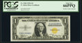 Small Size:World War II Emergency Notes, Fr. 2306 $1 1935A North Africa Silver Certificate. PCGS Gem New 66PPQ.. ...