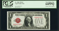 Low Serial Number 2782 Fr. 1500 $1 1928 Legal Tender Note. PCGS Very Choice New 64PPQ