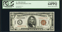 Fr. 2302 $5 1934A Hawaii Federal Reserve Note. PCGS Very Choice New 64PPQ