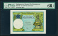 Madagascar Banque de Madagascar 10 Francs ND (1937-47) Pick 36 PMG Gem Uncirculated 66 EPQ