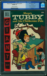 Dell Giant Comics Marge's Tubby and His CP #1 (Dell, 1956) CGC VF/NM 9.0 Cream to off-white pages