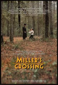 """Miller's Crossing & Other Lot (20th Century Fox, 1990). Rolled, Very Fine+. One Sheets (2) (27"""" X 40"""") SS..."""