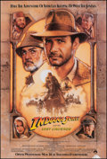 "Movie Posters:Action, Indiana Jones and the Last Crusade (Paramount, 1989). Rolled, Fine/Very Fine. One Sheet (27"" X 40"") SS Advance. Drew Struzan..."