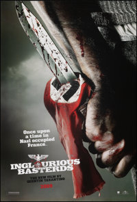 """Inglourious Basterds (Universal, 2009). Rolled, Very Fine+. One Sheets (3) (27"""" X 39.75"""") DS Advance, 3 Styles..."""