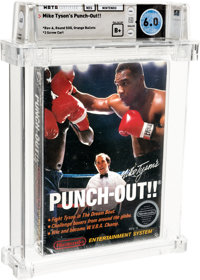 Mike Tyson's Punch-Out!! - Wata 6.0 B+ Sealed [Rev-A, Round SOQ, Mid-Production], NES Nintendo 1987 USA