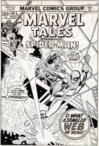John Romita Sr. Marvel Tales #44 Cover Original Art (Marvel, 1973).... (Total: 2 Original Art)