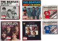 Music Memorabilia:Memorabilia, The Beatles Six Sealed Box Sets Including Four with T-Shir...