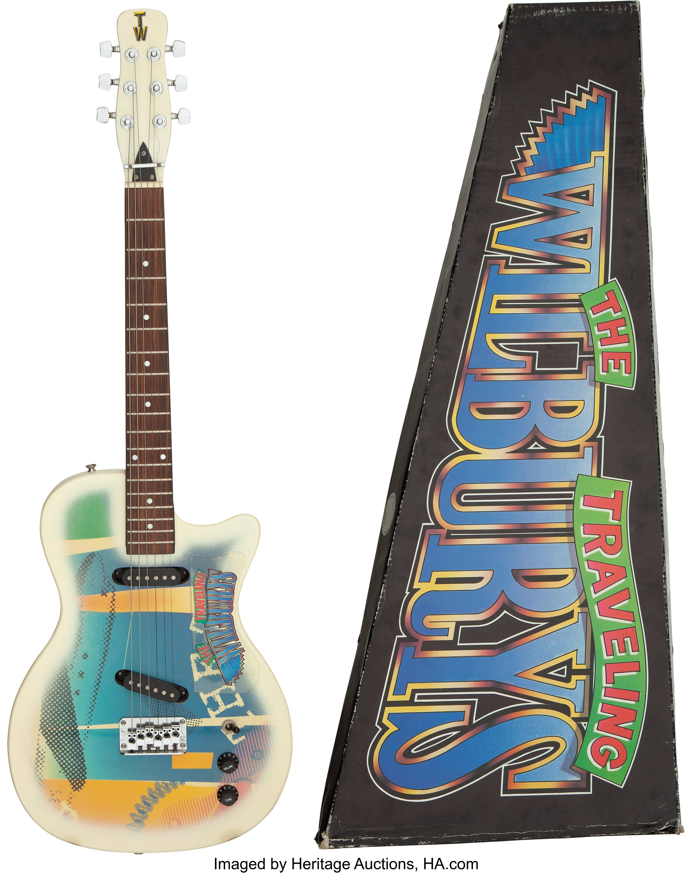 Gretsch Traveling Wilburys Tw 500 Electric Guitar New In Original Lot 89492 Heritage Auctions