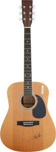 Musical Instruments:Acoustic Guitars, Toby Keith Signed Acoustic Maxam Guitar. ...