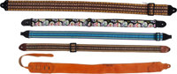 Group of Various Guitar Straps