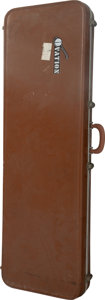 Musical Instruments:Miscellaneous, Ovation Brown Hardshell Electric Bass Guitar Case.. ...