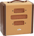 Musical Instruments:Amplifiers, PA, & Effects, 1948 Gretsch Electromatic Brown Guitar Amplifier, Serial #V14775.. ...