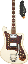 Musical Instruments:Electric Guitars, Circa 1966 Supro Arlington White Solid Body Electric Guitar, Serial #I85683.. ...