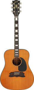 Musical Instruments:Acoustic Guitars, Circa 1970 Gibson Heritage Natural Acoustic Guitar, Serial #620070.. ...