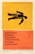 Movie Posters:Drama, Anatomy of a Murder (Columbia, 1959). Fine+ on Linen. ...