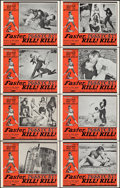 "Movie Posters:Sexploitation, Faster, Pussycat! Kill! Kill! (Eve Productions, 1965). Overall: Very Fine-. Lobby Card Set of 8 (11"" X 14"").. ... (Total: 8 Items)"