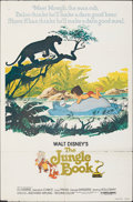 """Movie Posters:Animation, The Jungle Book & Other Lot (Buena Vista, R-1978). Folded, Fine+. One Sheets (3) (27"""" X 41""""). Animation.. ... (Total: 3 Items)"""