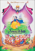 "Movie Posters:Animation, Snow White and the Seven Dwarfs & Other Lot (Buena Vista, R-1993). Folded, Overall: Very Fine-. One Sheets (3) (27"" X 41""). ... (Total: 3 Items)"